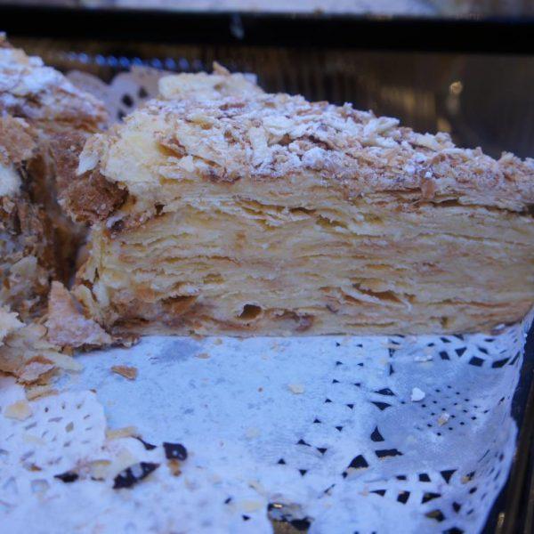 торт Наполеон с вишней алматы