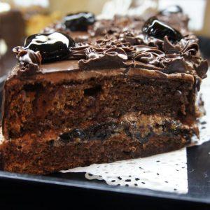 Шоколадный с черносливом алматы