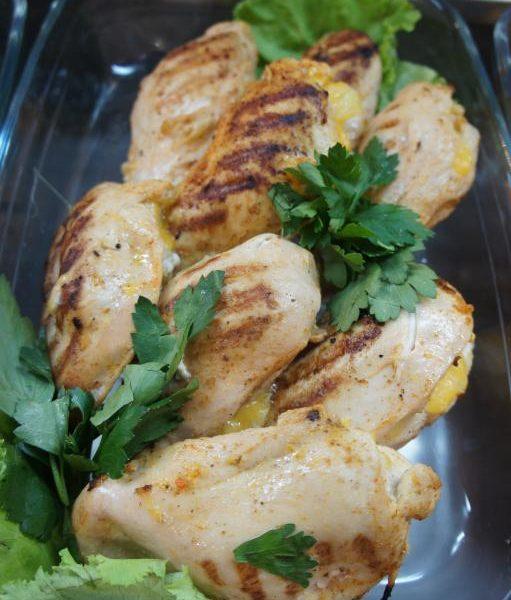 куриные кармашки с ананасом алматы